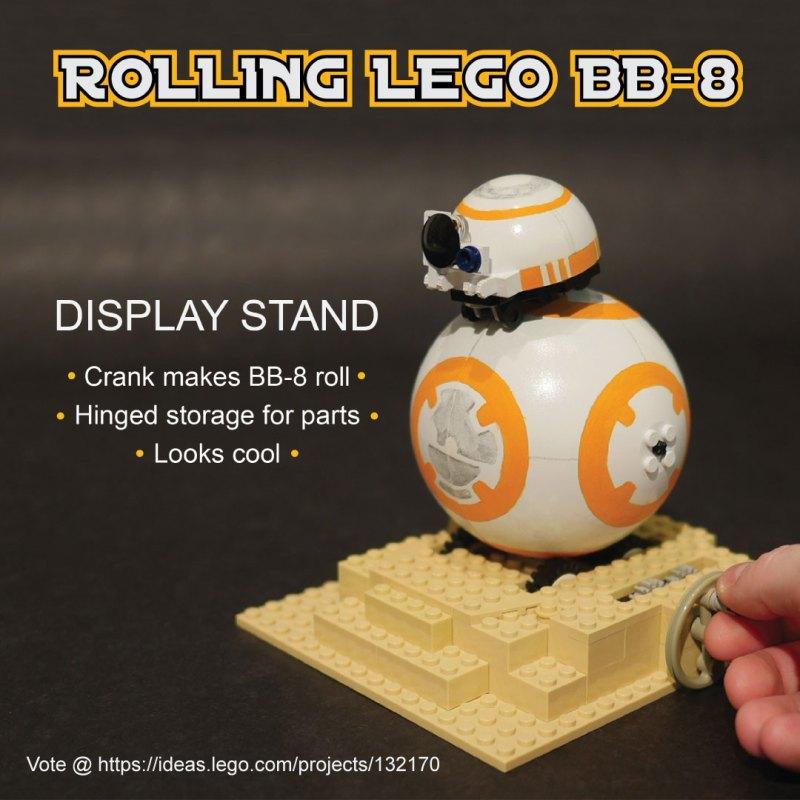 how to make a lego gimble