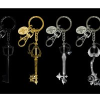 Kingdom Hearts - 4pcs Keyring set (Inner)-01
