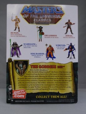 Masters of the Universe Classics - The Goddess - card back