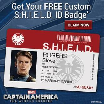 Cafepress SHIELD ID Badge Teaser