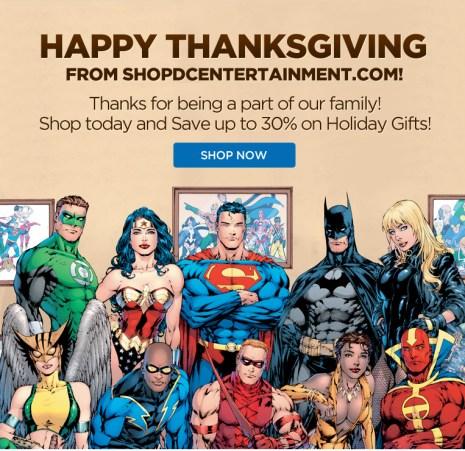ShopDCEntertainment.com Fall Sale