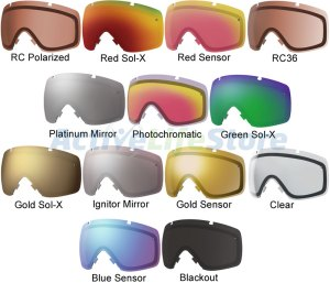 Smith Optics Replacement Lens Tint Guide 2014