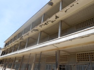 The S-21 prison...a former high school