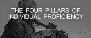 The Four Pillars of Individual Proficiency - Forward Observer Magazine 2014-10-22 09-44-39