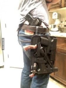 many guns