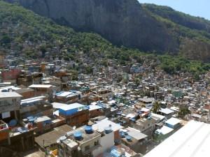 Favela in Rio de Janiero