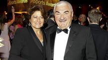 Lynette et Robert Federer