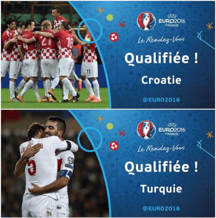 Croatie Source: Twitter