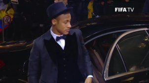 Neymar balln d'or 2015 costume