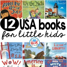 12 usa books for little kids