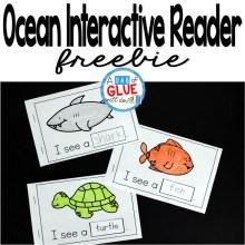 I See Ocean Animals Interactive Reader