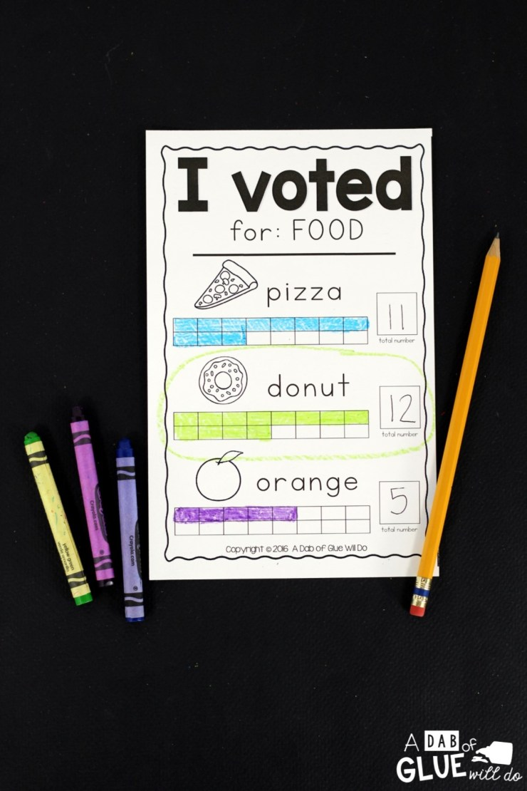 A Mock Election for Little Learners - A Dab of Glue Will Do