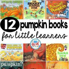 12 Pumpkin Books for Little Learners