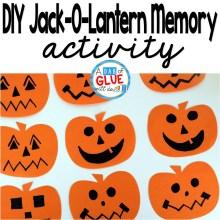 DIY Jack-O-Lantern Memory