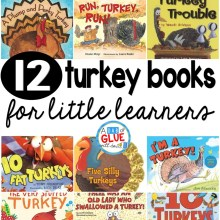 12 Turkey Books for Little Learners