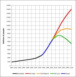 World Population 1800-2100