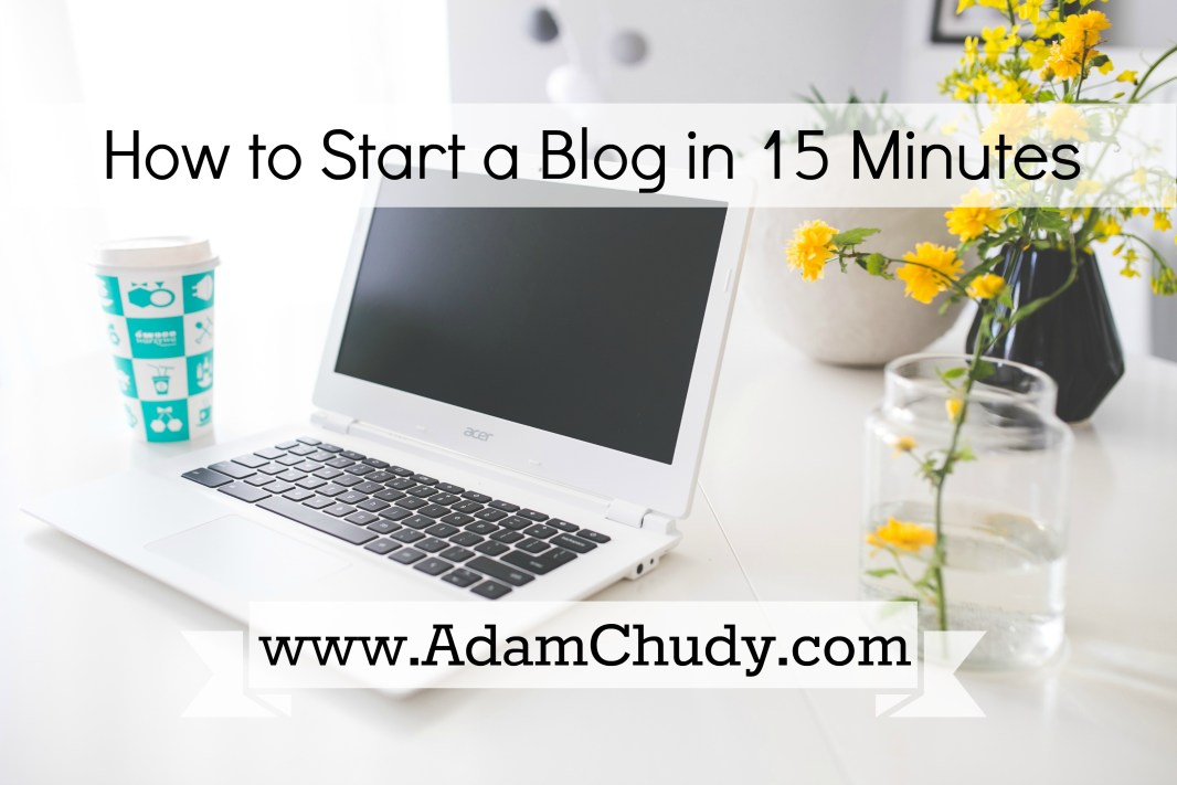 How to Start a Blog 2