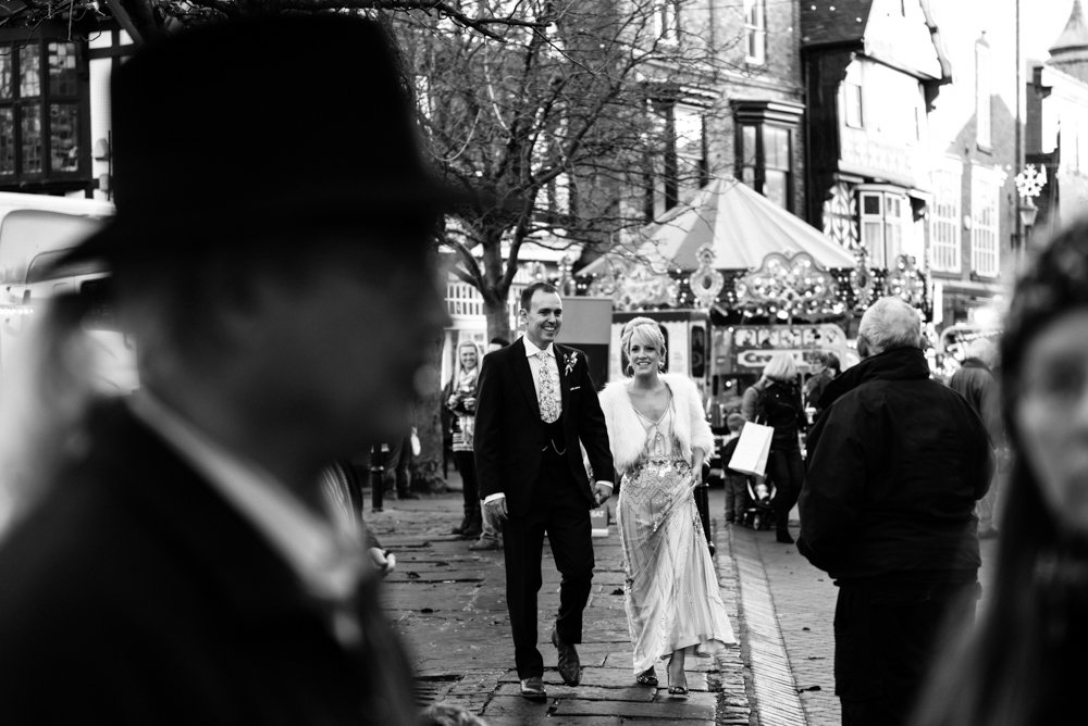 Crown Hotel Nantwich Documentary Wedding Photography In