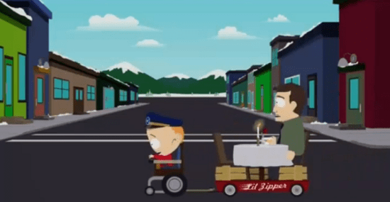 south park ride sharing