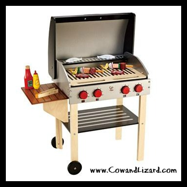 Gourmet Grill with Food by Hape