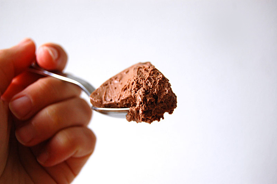 Un classique version vegan : la mousse au chocolat