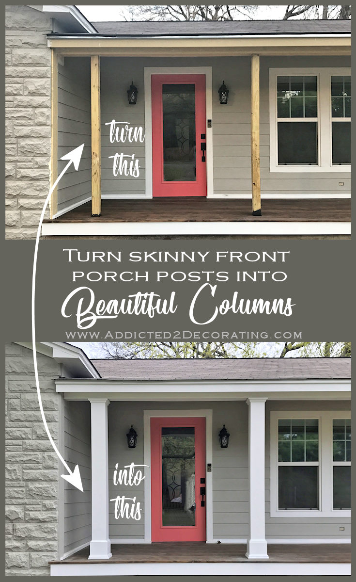 Fulgurant Front Finished Front Porch Columns A Few New Photos Finished Front Porch Columns A Few New Photos Front Front Porch Columns Rock Front Porch Columns Near Me houzz 01 Front Porch Columns