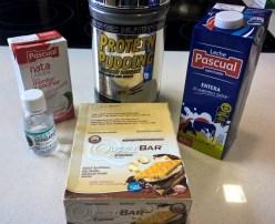 Ingredientes del helado sin carbohidratos