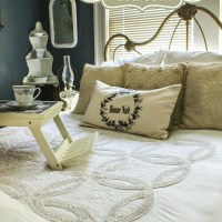 Winter White Guest Bedroom