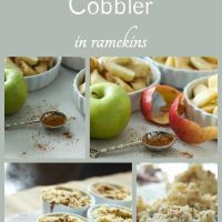 Apple Cobblers in Ramekins