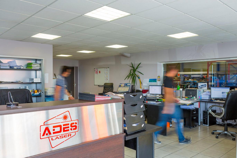 Bureaux Ades laser