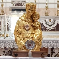 Le reliquie di Sant'Antonio a Mottola