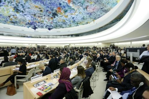 نظرة عامة على مشاركة منظمة أمريكيون من أجل الديمقراطية وحقوق الإنسان في البحرين في الدورة الـ33 لمجلس الأمم المتحدة لحقوق الإنسان