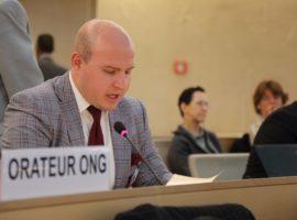 مجلس حقوق الإنسان الدورة 35: مداخلة عن هجوم البحرين العنيف على الدراز