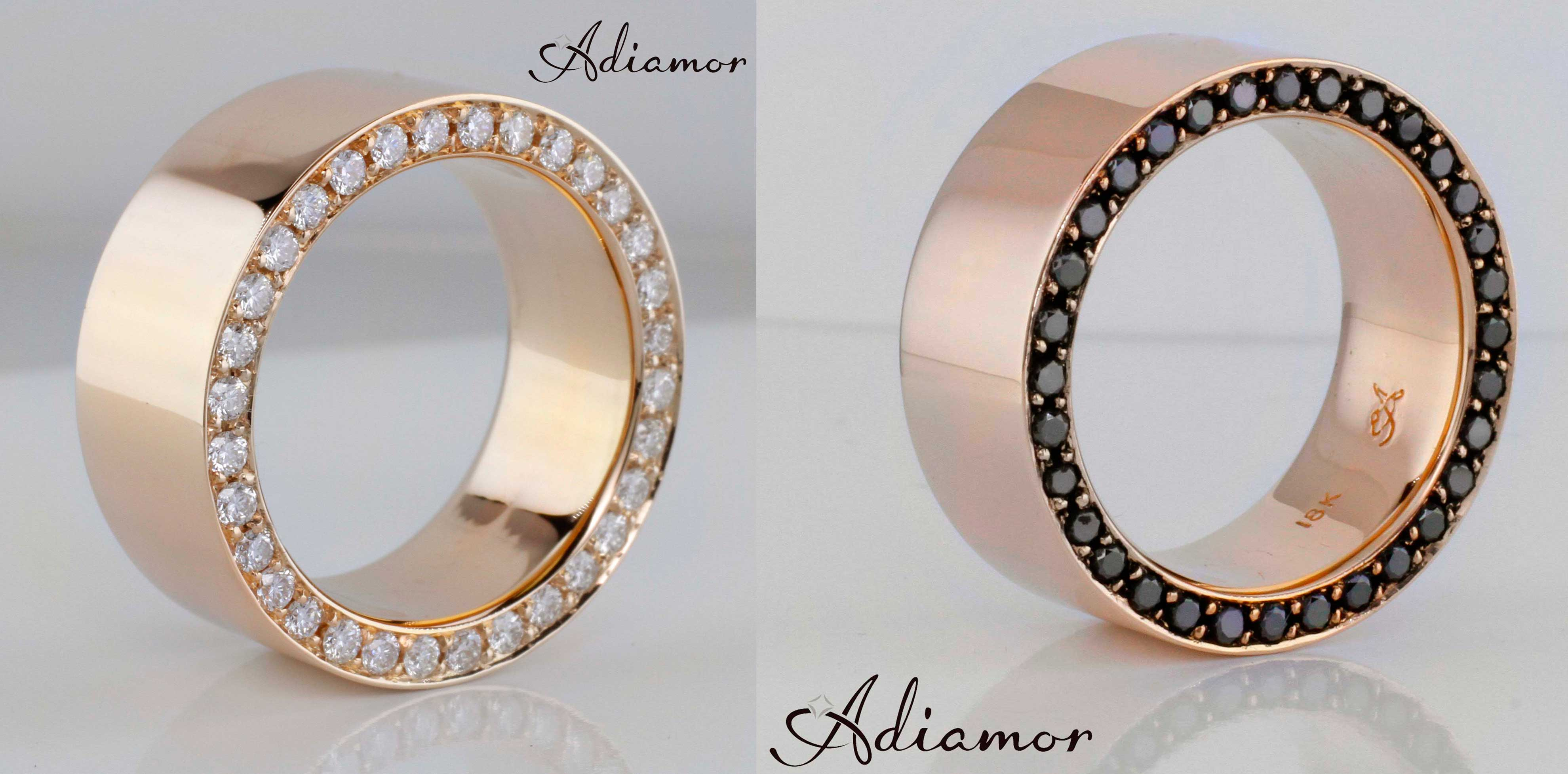 mens wedding bands wedding bands men customer favorite Custom Rose Gold Men s Rings
