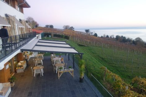 Views over Getaria in Basque Country hotel