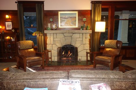 Touvelle House Main Room in Jacksonville Oregon