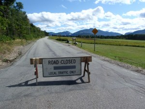 Adirondak Loj Road closed after Tropical Storm Irene