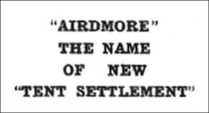 Airdmore headline