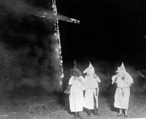 KKK cross burning LOC