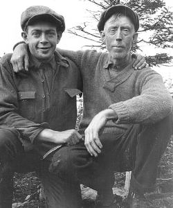 Bob Marshall and his guide Herb Clark