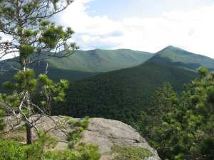 The open space character of the Adirondack Park as seen from Owl's Head in Keene