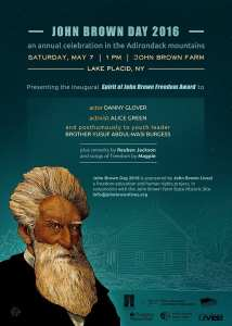 John Brown Day 2016 Poster