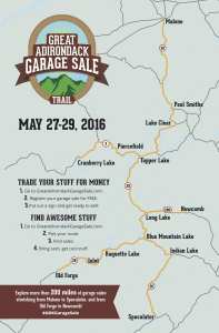 great adirondack garage sale