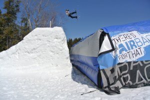 Mt. Snow, Easter Weekend with the Airbag  Photo credit: ©Michelle Nahom
