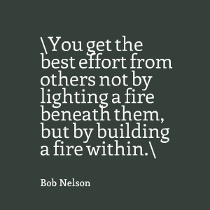 Building a Fire Within coaching quote