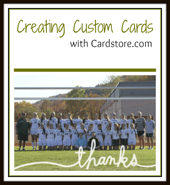 Creating Custom Cards with Cardstore.com