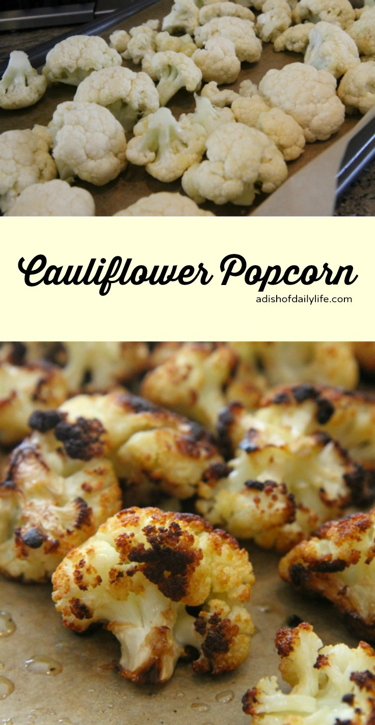 Roasted cauliflower tha'ts so good you could eat a whole head of cauliflower by yourself
