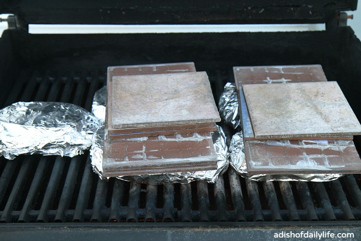 Italian Paninis on the grill