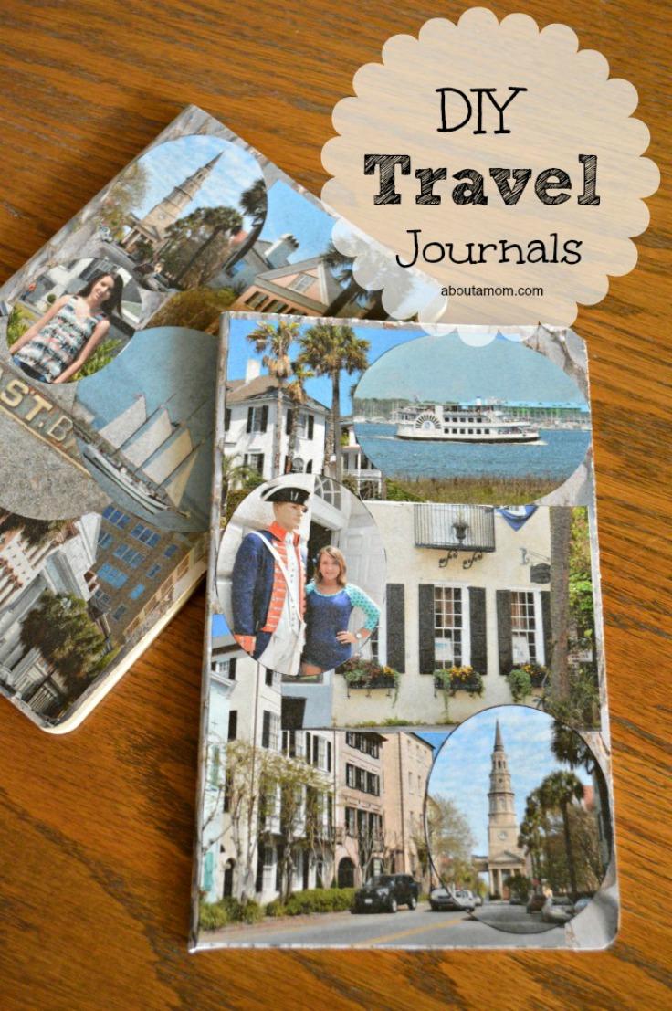 DIY Travel Journals