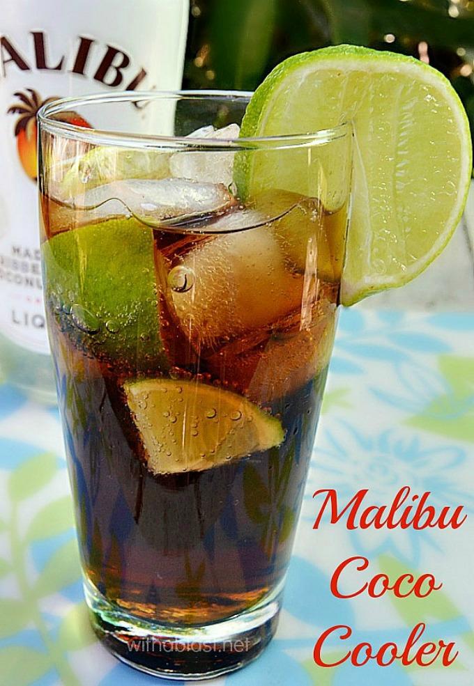 Malibu Coco Cooler